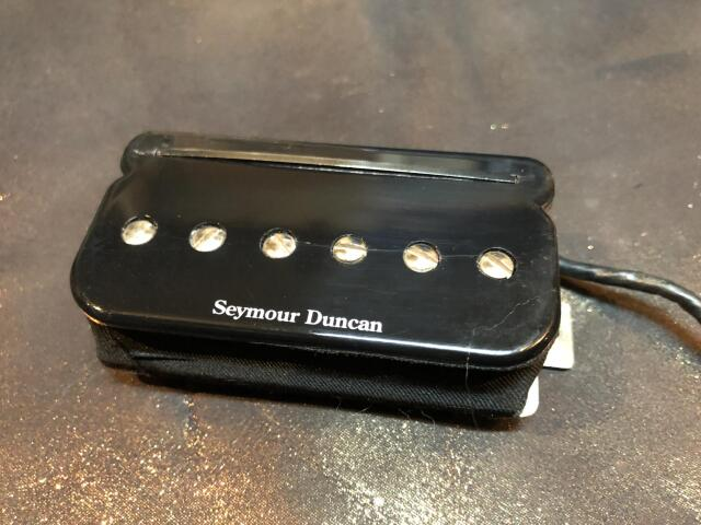 SEYMOUR DUNCAN TBPR-1b P-Rails Trembucker Black