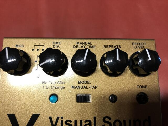 Visual Sound TAP DELAY