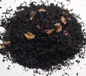 ローズ茶葉50g:ビン入