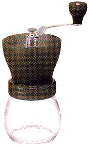 ハリオコーヒーミル スケルトンミル