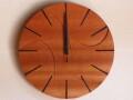 手作り木製電波掛け時計 サペリ