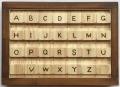 アルファベット大文字&小文字のブロックパズル