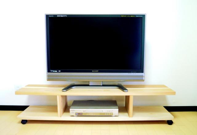 吉野杉のテレビボード〈スタイルA〉