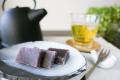 和歌山串本の紅葉屋本舗の本練羊羹切片のイメージ画像