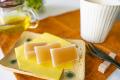 和歌山串本の紅葉屋本舗の柚子羊羹切片のイメージ画像