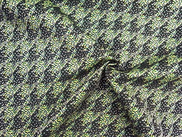イタリア製輸入生地 【一流ブランド使用】 千鳥ジャガード織/ワンピース着分1.6m