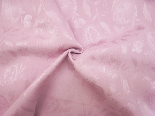 イタリア製輸入生地 【Valentino/ヴァレンチノ社】 ピュアシルク花柄ジャガード織/1着分3.2m