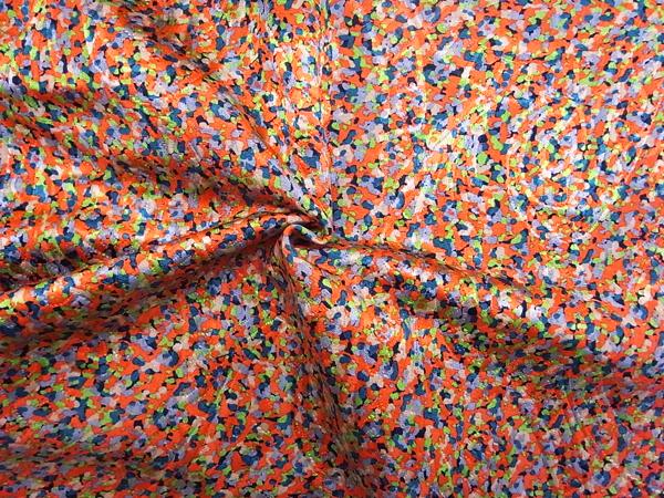 スイス製輸入生地 【シルクウール】 フクレジャガード織り/1着分2.3m