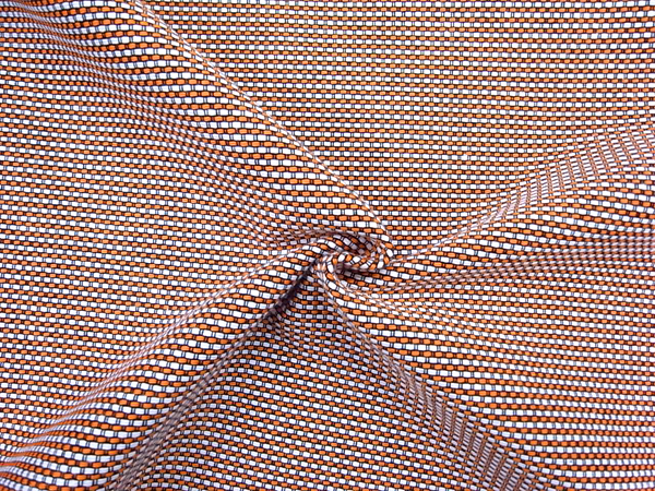 イタリア製輸入生地 【ARMANI/アルマーニ社使用】 シルクコットンベース/ツィード織/0.1m(10cm)単位