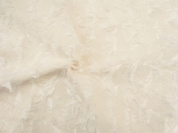 イタリア製輸入生地 【一流メゾン使用】 コットンベース/フェザータッチ織/ワンピース着分1.7m