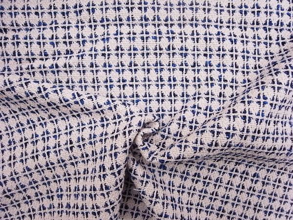 イタリア製輸入生地 【一流ブランド使用】 コットンベースジャガード織/ワンピース着分2.0m