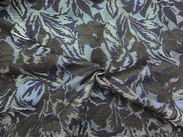イタリア製輸入生地 【ゴブラン織り 】 花柄織/ワンピース着分1.5m