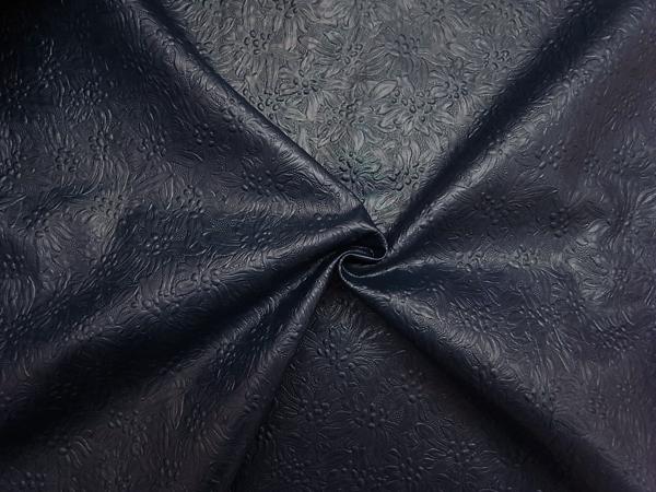 フランス製輸入生地 【コーティング加工】 花柄ジャガード織/1着分3.9m