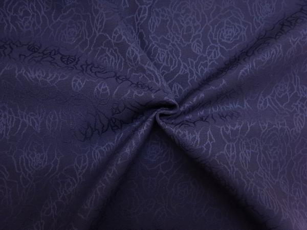イタリア製輸入生地 【AGNONA/アニオナ社】 ピュアウール/花柄ジャカード/1着分2.4m
