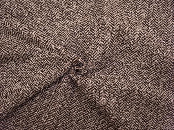イタリア製輸入生地 【ウールベース混】 ウール混ジャージ/ヘリンボーン織柄/1着分2.4m