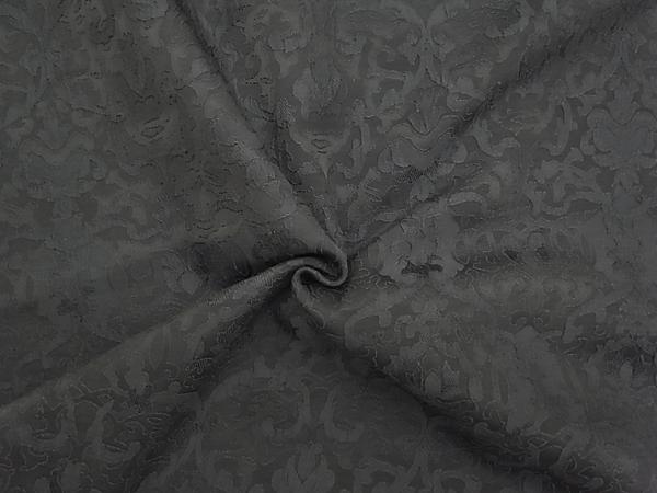 イタリア製輸入生地 【ピュアシルク】 抽象柄ジャガード織/1着分3.8m