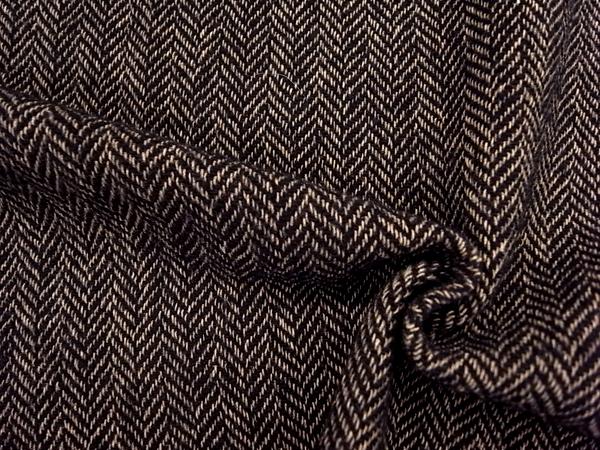 イタリア製輸入生地 【ARMANI/アルマーニ社使用】 ピュアウール ヘリンボーン織り 0.1m (10cm)単位