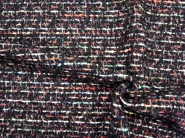 イタリア製輸入生地 【一流メゾン使用】 ウールベースツィード/ジャケット着分1.8m