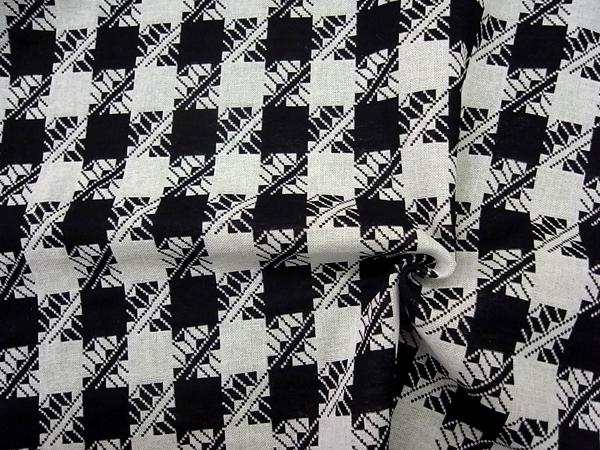 イタリア製輸入生地 【一流ブランド使用】 コットンベースジャガード織/0.1m(10cm)単位