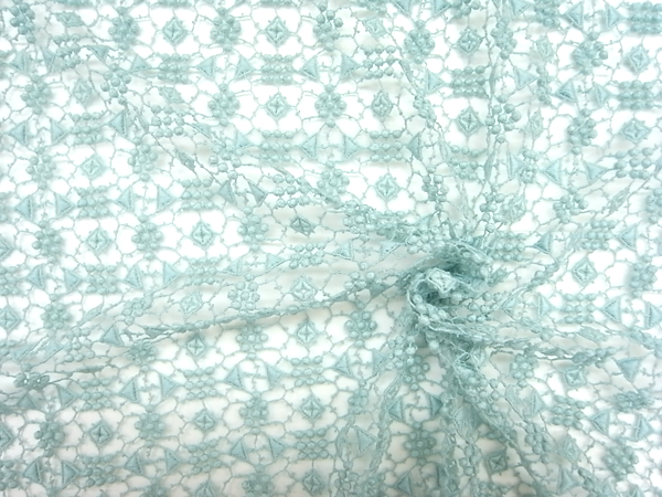 フランス製輸入生地 【solstiss社】 ピュアコットンリバーレース/40cm巾×4.5m