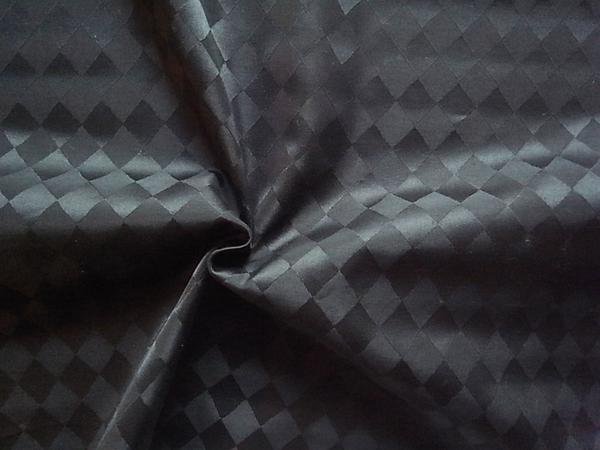 イタリア製輸入生地 【ピュアコットン】アーガイルジャガード織/1着分2.4m