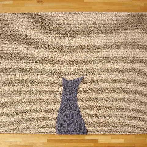【シルエット】ラグマット M:W63×L85