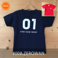 MONOMONI(モノモニ)こどもTシャツ「ZEROWAN(ゼロワン)」