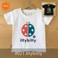 MONOMONI(モノモニ)こどもTシャツ「ittybitty(イッティビッティ)」