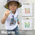 monomoni(モノモニ)|Tシャツ|幾何学っぽいポップでカラフルなマカロン♪カラーのネーミングまで美味しそうで可愛い!