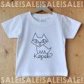 【終売30%オフ】こどもTシャツ「Kopek?(コペック)」ホワイト・サイズ130