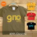 MONOMONI(モノモニ)こどもTシャツ「Gnocchi(ニョッキ)」