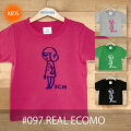 こどもTシャツ「REAL ECOMO(リアルエコモ)」