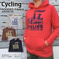 Cycling(サイクリング)フーデッドパーカー