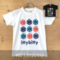 MONOMONI(モノモニ)おとなTシャツ「ittybitty(イッティビッティ)」