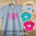 【終売30%オフ】おとなTシャツ「Candy(キャンディ)」