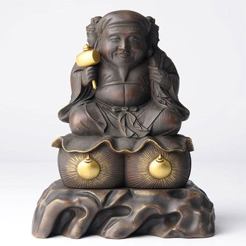 武将が愛した仏像 豊臣秀吉 三面大黒天