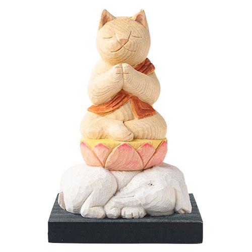 猫 buddha(ニャンブッダ) 干支 守護 本尊「普賢菩薩」