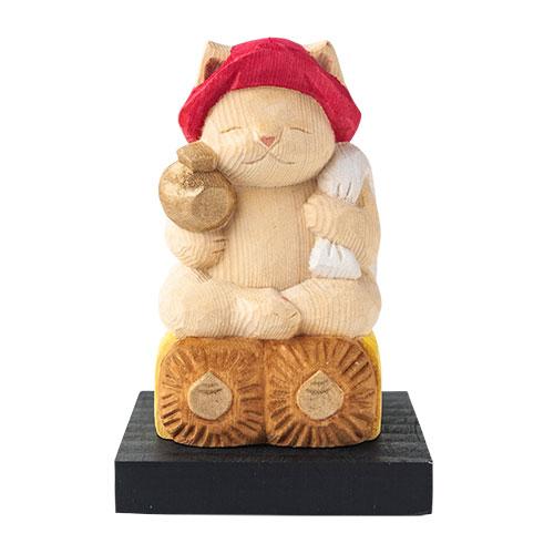 猫 buddha(ニャンブッダ) 猫福神「大黒天」