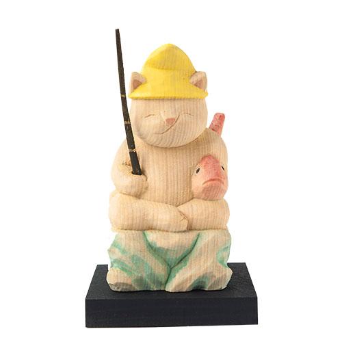 猫 buddha(ニャンブッダ) 猫福神「恵比寿」