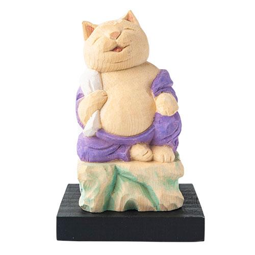 猫 buddha(ニャンブッダ) 猫福神「布袋」