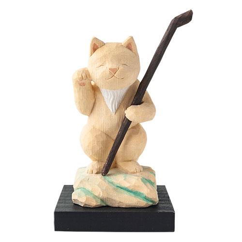猫 buddha(ニャンブッダ) 猫福神「福禄寿」