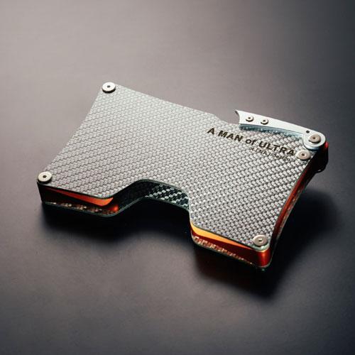 「NA」design×A MAN of ULTRA  CFRPカードケース