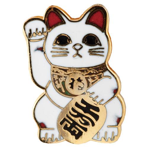mono shop限定ピンズ necopin<ネコピン>  招き猫 日本猫(三毛猫)Ver.