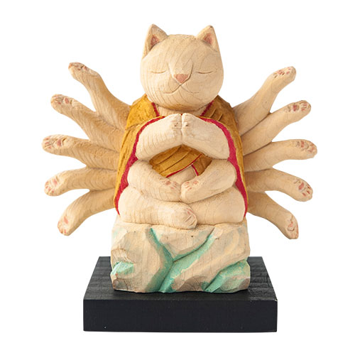猫 buddha(ニャンブッダ) 干支 守護 本尊「千手観音」