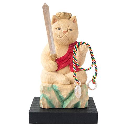 猫 buddha(ニャンブッダ) 干支 守護 本尊「不動明王」