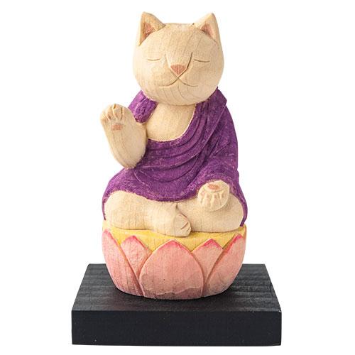 猫 buddha(ニャンブッダ) 干支 守護 本尊「阿弥陀如来」