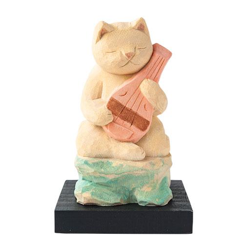 猫 buddha(ニャンブッダ) 猫福神「弁財天」