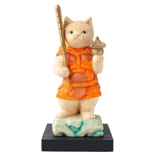 猫 buddha(ニャンブッダ) 猫福神「毘沙門天」