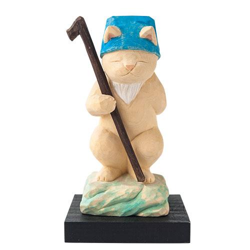 猫 buddha(ニャンブッダ) 猫福神「寿老人」