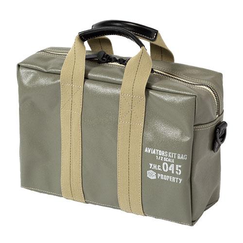 横濱帆布鞄 M18A14 Aviators Kit Bag 1/2 S OLIVE